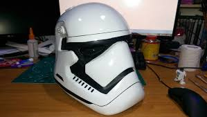 1st order stormtrooper helmet