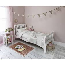 Single Bedroom Astrid Sleigh Single Bed In White Noa Nani