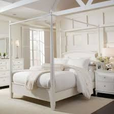 Tips: Fascinating White Canopy Bed Frame Your Home Concept ...