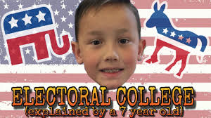 the electoral college explained by a 7 year old the electoral college explained by a 7 year old