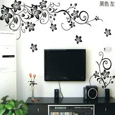 fl wall decals hot vine wall stickers flower wall decal removable art home decor living room fl wall decals