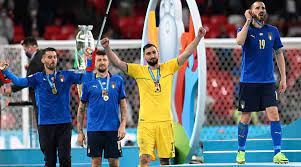 Italy goalkeeper Gianluigi Donnarumma ...