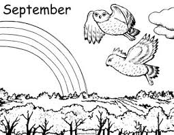 Small Picture September Coloring Page Coloring Book