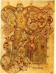 christ s monogram page book of kells 800