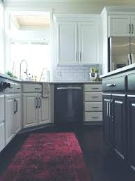 s navy kitchen rug and teal