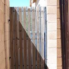 residential fence gate painting