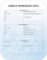 Promissory Note Word Template 3 Promissory Note Templates Excel Word Templates
