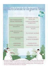 Begriffe aus verschiedenen kategorien in einer liste. Weihnachts Scharade Babykeks