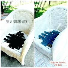 painting rattan furniture painted wicker stylish what is the best spray paint for with a brush painting rattan furniture