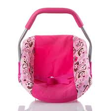 Baby Doll Car Seat | Adorable Baby Girl Doll Car Seat with Washable ...