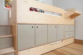 casa kids furniture. Natural And Gray Plywood Furniture. Raised Bed With Trundle. Casa Kids Furniture