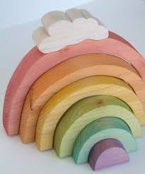 simple wood toy projects. cute simple wooden toys #rainbow wood toy projects