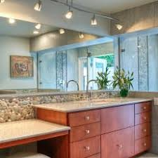 track lighting in bathroom. contemporary master bathroom with track lighting in t