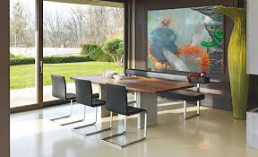 modern dining table with bench. View In Gallery Nur-table-permesso-bench-from-girsberger.jpg Modern Dining Table With Bench D