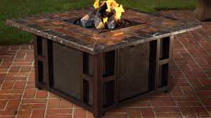 dining table outdoor dining table with fire pit patio furniture gas fire table