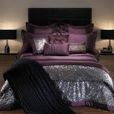 bedroom design purple. Brilliant Purple Silver Decoration On Purple Linen 40 Lovely Bedroom Design Ideas For Bedroom Design Purple