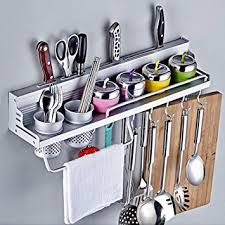 Small Picture DS Kitchen Shelf Rack Multipurpose Wall Mounted Pan Pot Rack