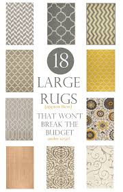 large rugs that won t break the budget these are 8x10 rugs for under