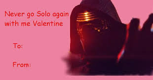 Star wars valentine's cards and, s, c, oons! Star Wars The Force Awakens Valentine S Day Cards