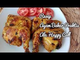 Misalnya dengan cara di oven, dengan 2. Cara Memanggang Ayam Menggunakan Happy Call