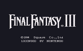 final fantasy iii final fantasy vi faq walkthrough