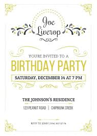 Party Invitation Template Word Free Free Surprise Party Invitation Templates Bahiacruiser