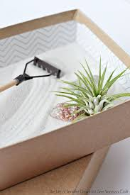 how to make your own mini zen garden