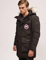black Canada Goose Citadel Parka Jacket