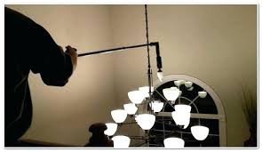chandelier bulb changer changing light bulbs in high ceilings and lamps ideas inside change high ceiling
