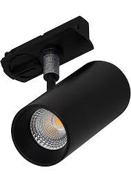 black track lighting. Novara 15W Track Spot - Black Lighting