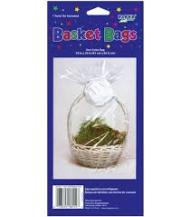 cellophane basket bag 24 u0022x25 u0022