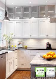 Shaker Style Kitchen With Lacquered Cabinets And Quartz - Lacquered kitchen cabinets