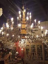 large iron chandelier large26