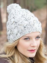 Free Knitted Hat Patterns On Circular Needles Mesmerizing Free Knitting Pattern For Chunky Cable And Rib Hat Beanie Patterns