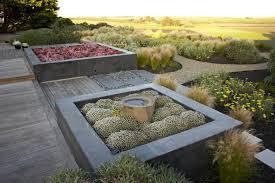 poured concrete raised beds landscape modern with raised vegetable design 68 garden gravel raised