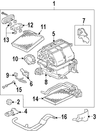 parts com® mitsubishi endeavor evaporator heater components 2006 mitsubishi endeavor ls v6 3 8 liter gas evaporator heater components