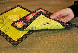Nature Brights Kitchen: Quilted Hot Pads | Sew4Home & Click to Enlarge Adamdwight.com