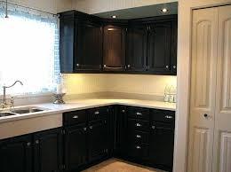 painting kitchen cabinets black best dark color to paint kitchen cabinets photo 2 painting kitchen cabinets