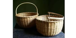 woven wood basket. Exellent Wood Blackashwovenwoodapplebaskets To Woven Wood Basket C