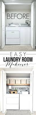 laundry room makeovers charming small. Closet: Apartment Closet Organization Best Ideas On Room Easy Laundry Makeover Makeovers Charming Small