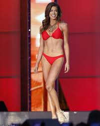 Miss America finalists flaunt their figures as pageant s.