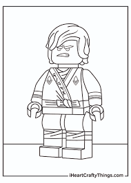 Printable Lego Ninjago Coloring Pages (Updated 2021)