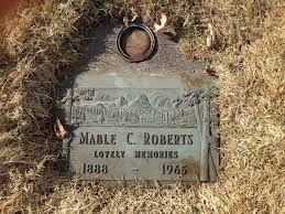 Mable Charlotte Gregory Roberts (1888-1965) - Find A Grave Memorial