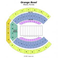 Capital One Orange Bowl Seating Chart Miami Hurricanes Tickets For Sale Schedules And Seating Charts