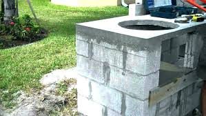 how to build an outdoor fireplace with cinder blocks how much to build outdoor fireplace block