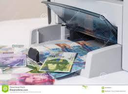 Money - Expenditure Swiss 58490840 Printing Image Photo Switzerland Currency Of Fake Francs Stock Printer