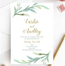 How To Use Printable Wedding Invitations And Wow Your Guests
