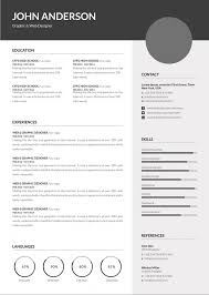 Template Download Premium Professional Resume Cv Template With