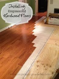 installing engineered hardwood flooring organizingmadefun com bruce e5101 stock purchased at