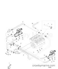 Standard cooling system 1998 mercruiser 5 0l alpha 4m11025us